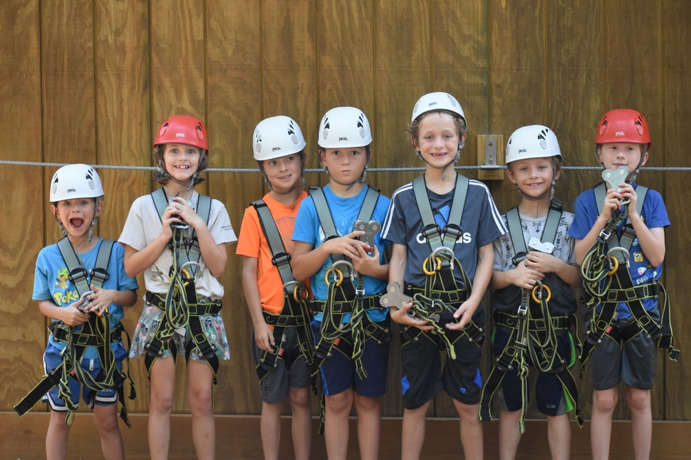 Kids Zip Birthday Parties at Charleston Zipline Adventures