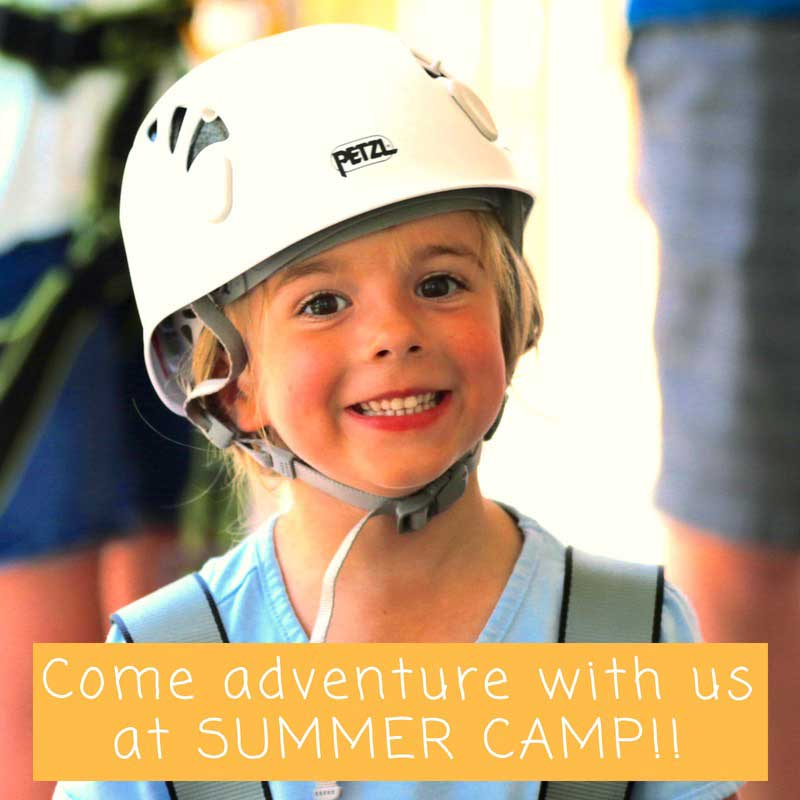 Kids Zip and Climbing Outdoor Adventure Camp