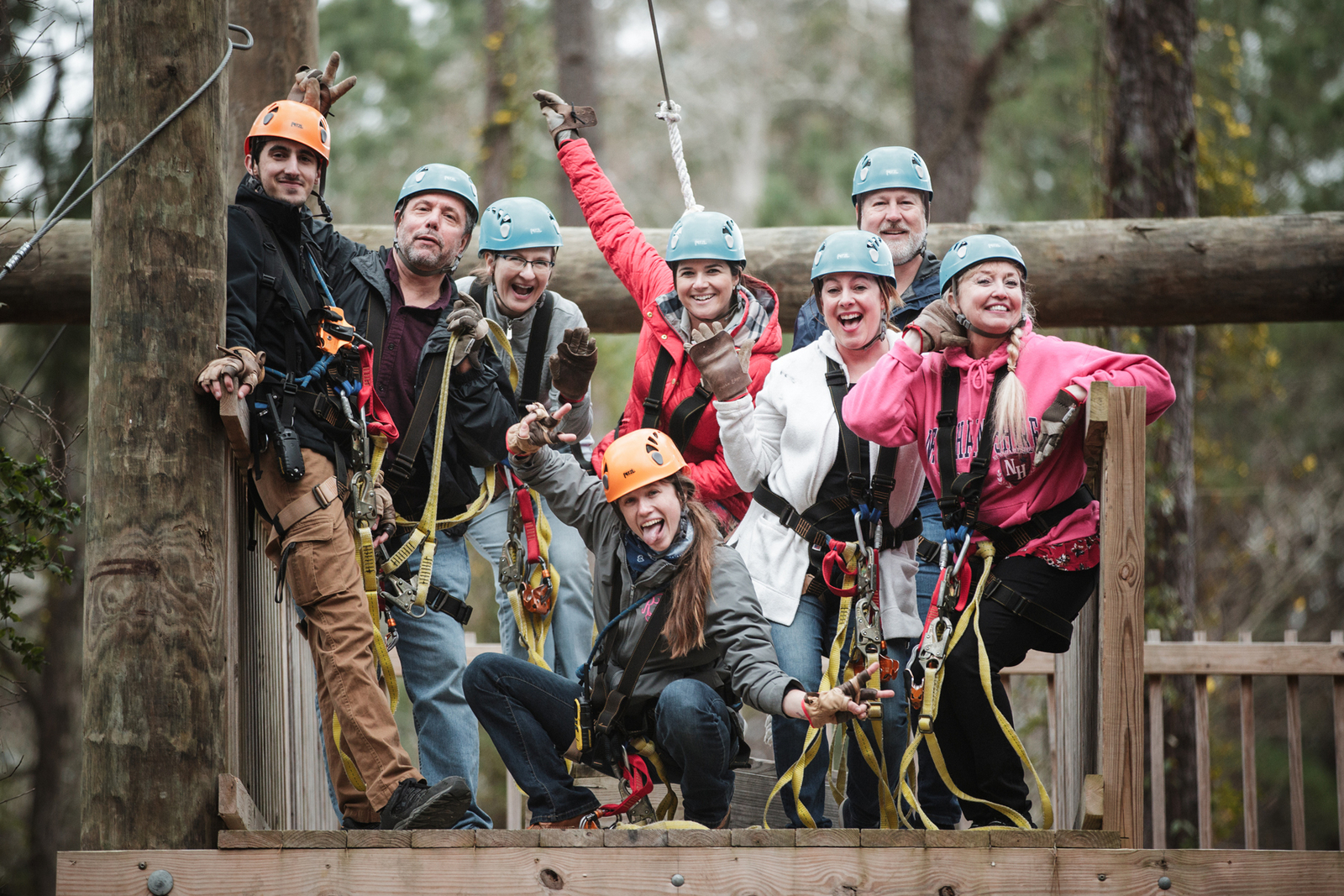 Why Charleston Zipline Adventures Should Host Your Next Company Teambuilding Event