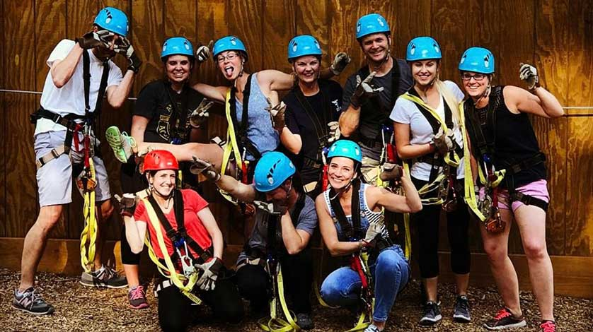 Charleston Teambuilding | Charleston Zip Line Adventures